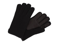 Ugg Calvert Side Vent Glove With Leather Palm Black Dress Gloves