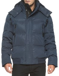 Andrew Marc New York Summit Down Filled Bomber Jacket Ink