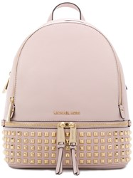 Michael Michael Kors Rhea Studded Backpack Pink And Purple