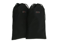 Tumi Packing Accessories Shoe Bags Pair Black Travel Pouch