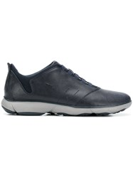 Geox Classic Lace Up Sneakers Blue