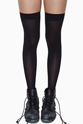 Nasty Gal School Girl Thigh High Socks