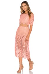 For Love And Lemons X Revolve Dress Pink