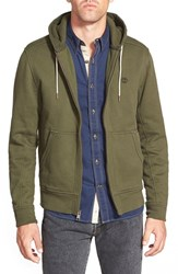 Men's Timberland 'Exeter' Slim Fit Zip Front Hoodie Forest Night
