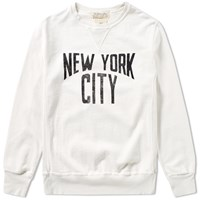Remi Relief New York City Crew Sweat Neutrals