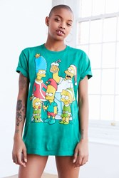 Urban Outfitters Simpsons Holiday Tee Green