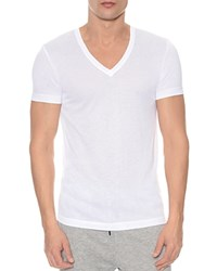 2Xist 2 X Ist Mesh V Neck Shirt White