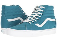 Vans Sk8 Hi Reissue Lite Canvas Larkspur True White Skate Shoes Blue