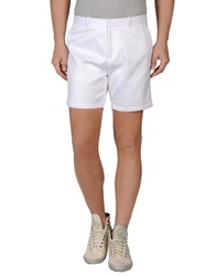 Richard Nicoll Trousers Bermuda Shorts Men White