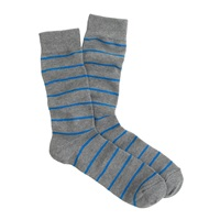 J.Crew Thin Stripe Socks