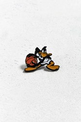 Urban Outfitters Space Jam Daffy Duck Pin Black