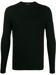 Tagliatore Ribbed Slim Fit Jumper 60