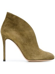 Gianvito Rossi 'Vamp' Booties Green
