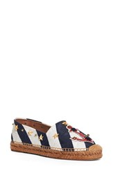 Dolce And Gabbana Women's Nautical Espadrille Flat