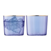 Lsa International Sorbet Tumbler Set Of 2 Blueberry