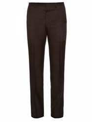 Givenchy Wool Blend Tailored Trousers Black
