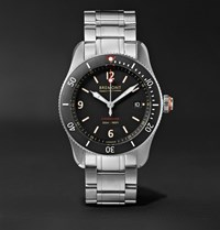 Bremont Supermarine Type 300 40Mm Stainless Steel Watch Silver