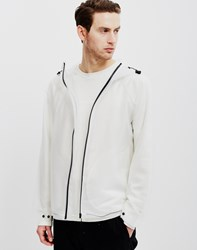 Hunter Original Vinyl Windcheater Jacket White