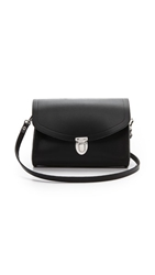 Cambridge Satchel Push Lock Bag Black