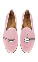 Del Toro M'o Exclusive Dumplings Slipper Pink
