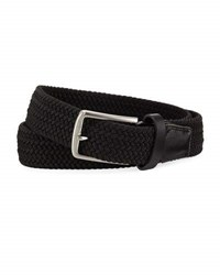 Nike Stretch Woven 35Mm Belt Black