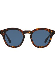 Oliver Peoples Sheldrake Sun Sunglasses Brown
