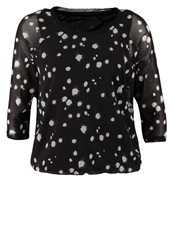 Tom Tailor Long Sleeved Top Black