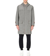 Tomorrowland Double Faced Wool Duffle Coat M.Gray