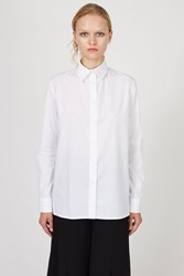 Ann Sofie Back Drunk Shirt White