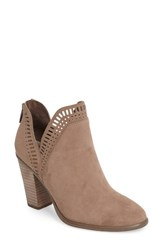 Vince Camuto Women's Fileana Split Shaft Bootie French Taupe Suede