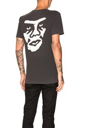 Obey The Creeper Tee Charcoal