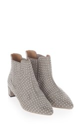 Topshop Women's Killer Studded Chelsea Boot Grey