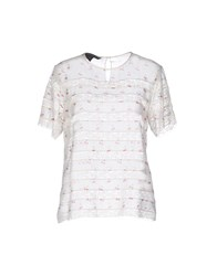 Marc By Marc Jacobs Blouses Ivory