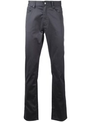 Kent And Curwen Straight Leg Causal Trousers Black