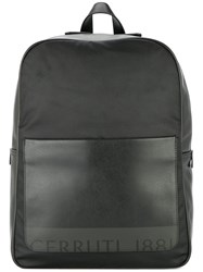 Cerruti 1881 Front Pocket Backpack Black
