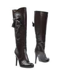 Viktor And Rolf Boots Dark Brown