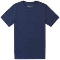 Saturdays Surf Nyc Grid Tee Blue