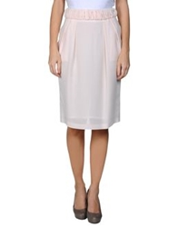 Francesco Scognamiglio Knee Length Skirts Light Grey