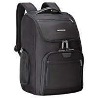 Briggs And Riley Large U Zip Backpack Black