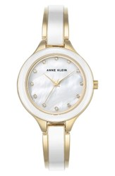 Anne Klein Women's Enamel Bangle Watch 32Mm