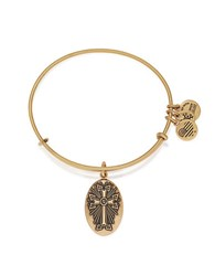 Alex And Ani Armenian Cross Charm Bangle Gold
