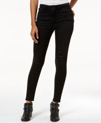 American Rag Ripped Black Wash Skinny Jeans Only At Macy's