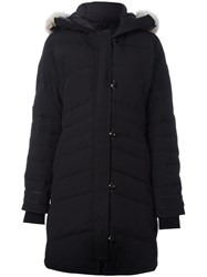 Canada Goose Hooded Parka Coat Black