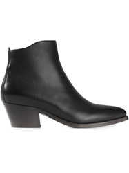 Sartore Pointed Zip Ankle Boots