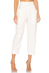 Rebecca Minkoff Caleigh Pant Ivory