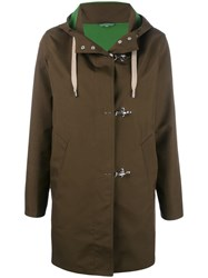 Fay Hooded Parka Brown