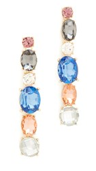 Adia Kibur Caroline Earrings Pink Multi