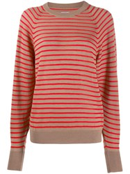 Barena Striped Fitted Top Neutrals