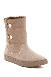 Elaine Turner Designs Madison Faux Fur Lined Boot Beige
