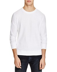 Bloomingdale's The Men's Store At Bloomingdales Jacquard Crewneck Sweatshirt 100 Exclusive Bleach